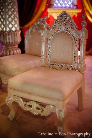 Indian wedding ceremony detail decor