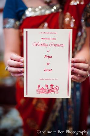 Indian wedding ceremony setting ideas