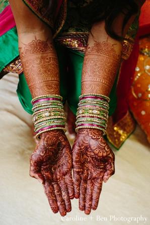 Indian wedding gaye holud mehndi