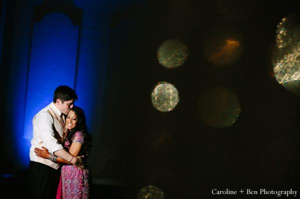 Indian wedding reception bride groom inspiration