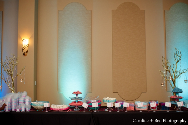 Indian wedding reception desserts