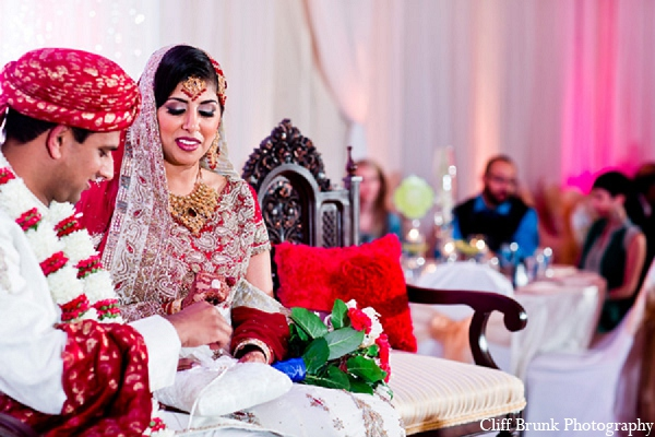 Pakistani groom bride wedding ceremony in Pleasanton, California Pakistani Wedding by Cliff Brunk Photography
