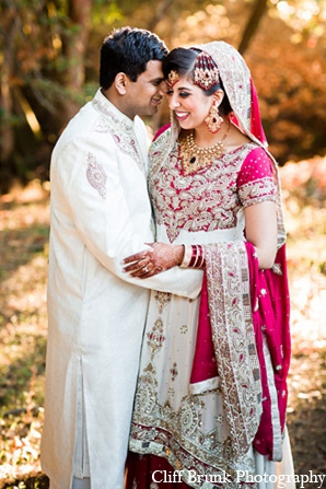 Pakistani portraits groom bride wedding in Pleasanton, California Pakistani Wedding by Cliff Brunk Photography