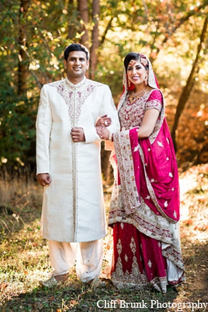 Pakistani portraits wedding bride groom in Pleasanton, California Pakistani Wedding by Cliff Brunk Photography