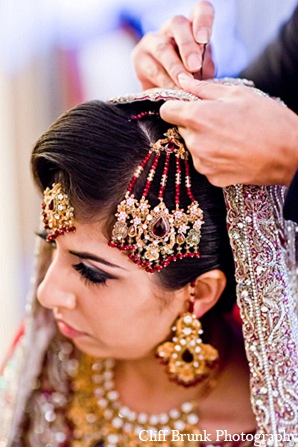 Pakistani wedding bridal fashion jewelry in Pleasanton, California Pakistani Wedding by Cliff Brunk Photography