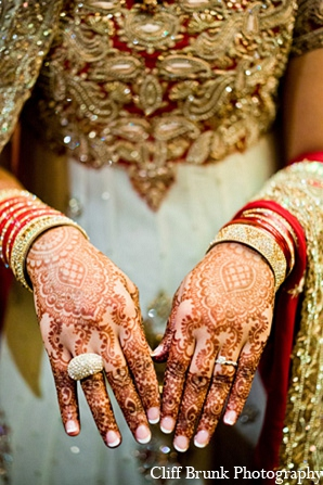Pakistani wedding bridal mehndi fashion in Pleasanton, California Pakistani Wedding by Cliff Brunk Photography