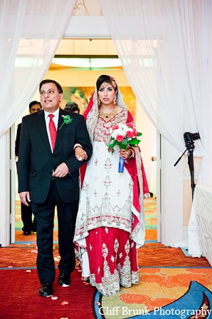 Pakistani wedding ceremony bride fashion in Pleasanton, California Pakistani Wedding by Cliff Brunk Photography