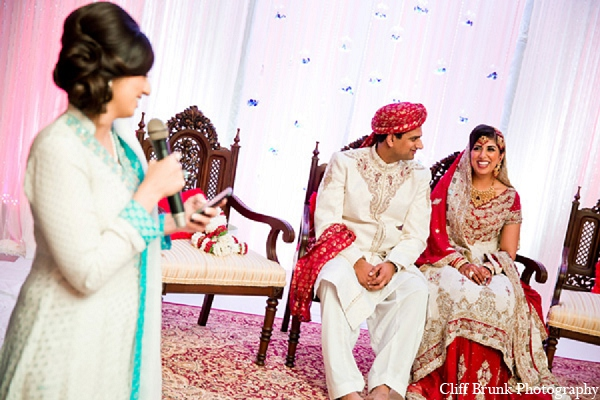 Pakistani wedding groom bride ceremony in Pleasanton, California Pakistani Wedding by Cliff Brunk Photography
