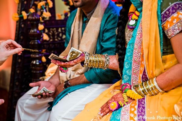 Pakistani wedding mehndi bridal fashion in Pleasanton, California Pakistani Wedding by Cliff Brunk Photography