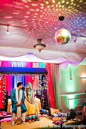Pakistani wedding mehndi bride groom lighting in Pleasanton, California Pakistani Wedding by Cliff Brunk Photography