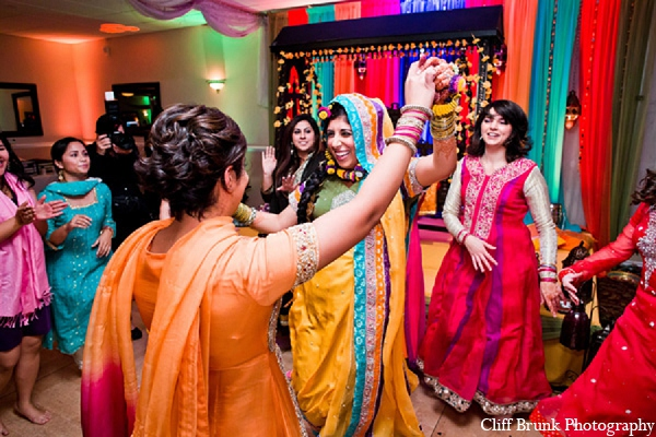 Pakistani wedding mehndi night bride in Pleasanton, California Pakistani Wedding by Cliff Brunk Photography