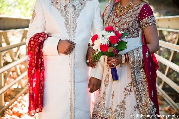 Pakistani wedding portraits bride groom fashion in Pleasanton, California Pakistani Wedding by Cliff Brunk Photography