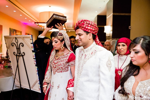 Pakistani wedding reception bride groom in Pleasanton, California Pakistani Wedding by Cliff Brunk Photography