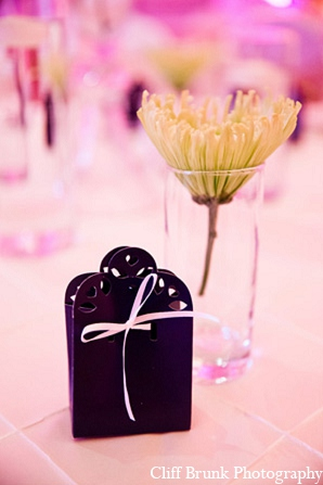Pakistani wedding reception decor favors in Pleasanton, California Pakistani Wedding by Cliff Brunk Photography