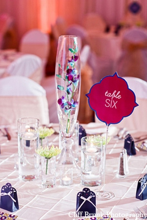 Pakistani wedding reception decor place cards in Pleasanton, California Pakistani Wedding by Cliff Brunk Photography