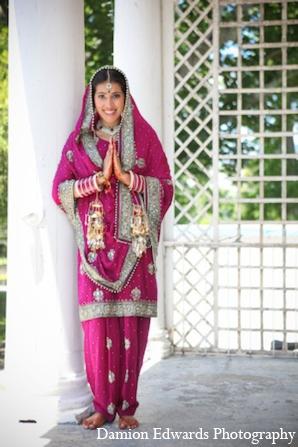 Indian wedding bride ceremony