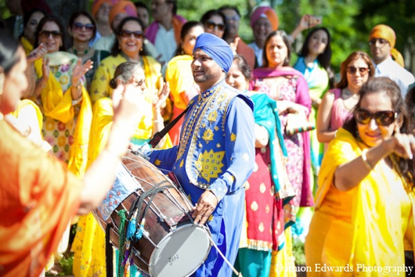 Indian wedding drums