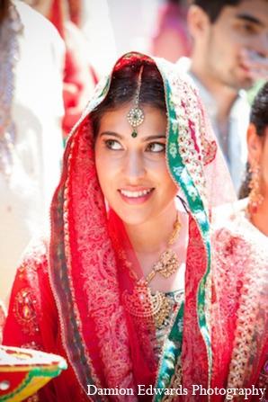Indian wedding outdoor ceremony