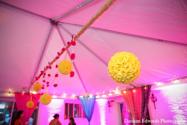 Indian wedding party decor