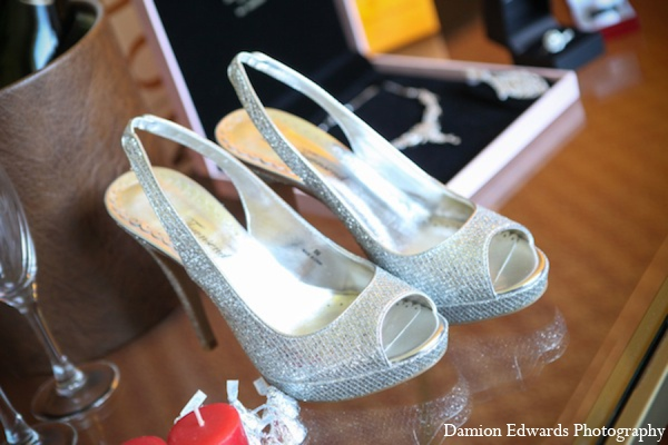 Indian wedding reception shoes