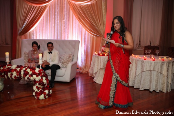Indian wedding reception traditions