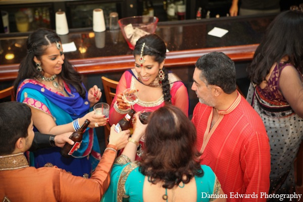 Indian wedding sangeet
