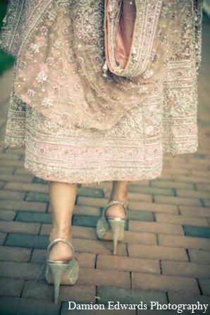 Indian wedding shoe