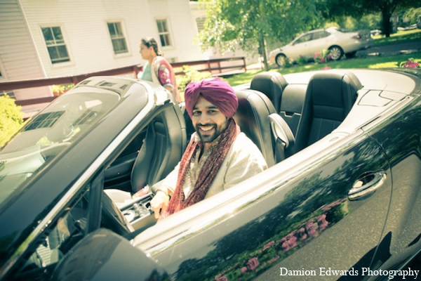Indian wedding transportation