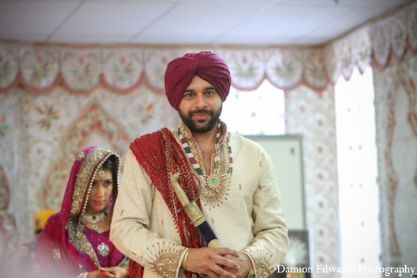 Indian wedding groom ceremony