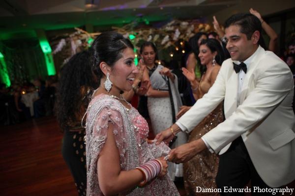 Indian wedding reception clothing