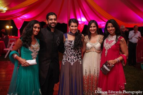 Mehndi party clothing