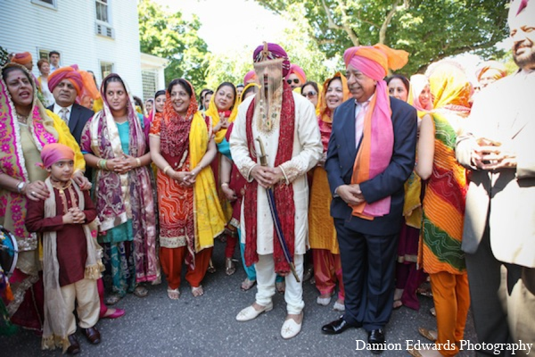 Traditional baraat