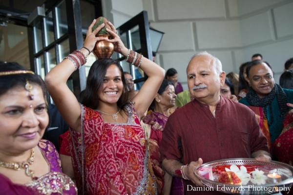Indian wedding baraat celebration guests