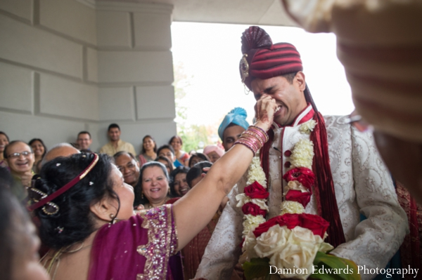 Indian wedding baraat celebration