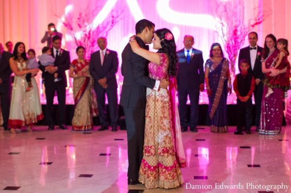 Indian wedding bride groom dance dancefloor