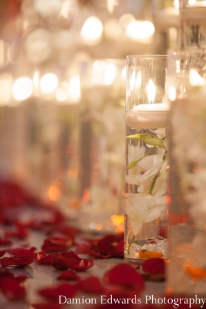 Indian wedding ceremony decor floral