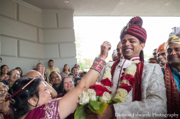 Indian wedding groom baraat celebration