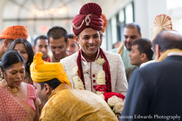 Indian wedding groom baraat traditional