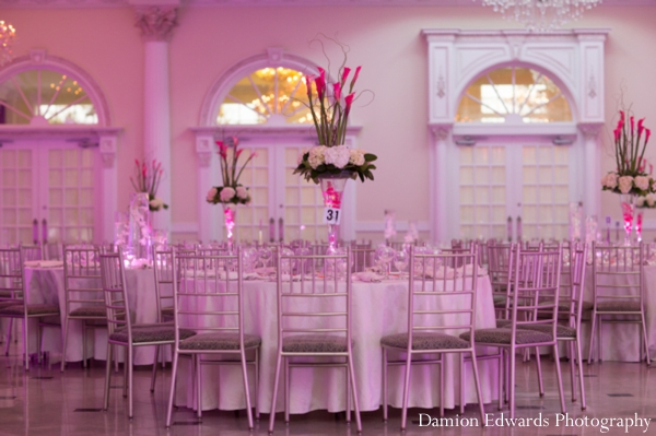 Indian wedding reception lighting design