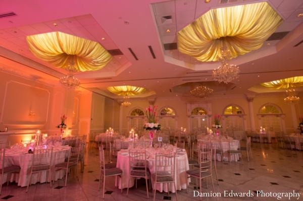 Indian wedding reception venue ballroom