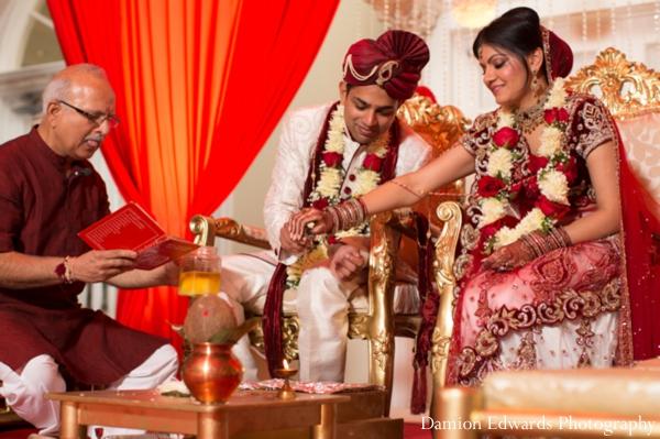 Indian wedding traditional ceremony bride groom
