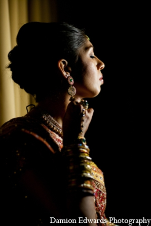 Indian wedding bridal jewelry in Long Island, New York Indian Wedding by Damion Edwards Photo