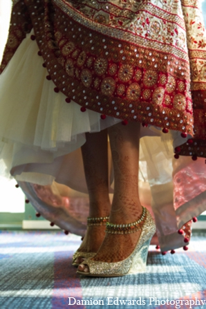 indian wedding bridal shoes