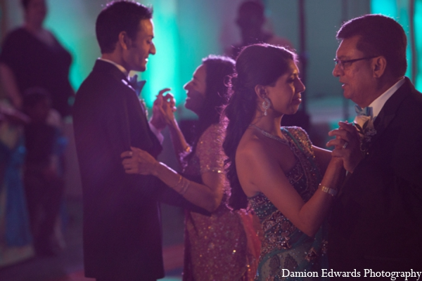 Indian wedding bride groom dance photo in Long Island, New York Indian Wedding by Damion Edwards Photo