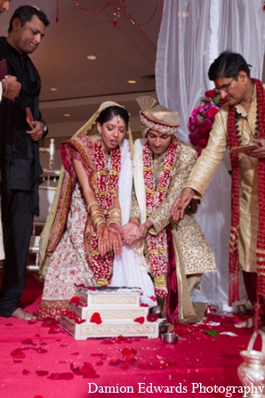 Indian wedding ceremonial traditions in Long Island, New York Indian Wedding by Damion Edwards Photo