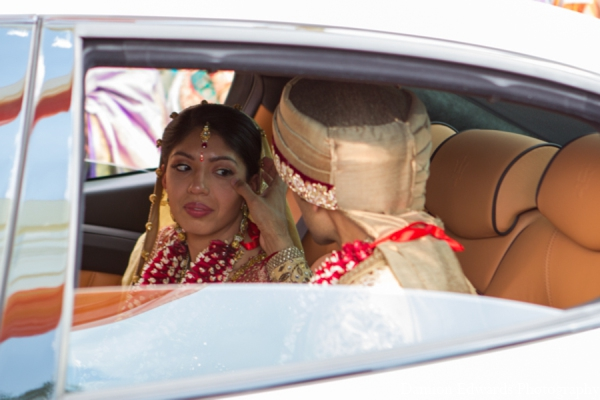 Indian wedding ceremony transportation in Long Island, New York Indian Wedding by Damion Edwards Photo