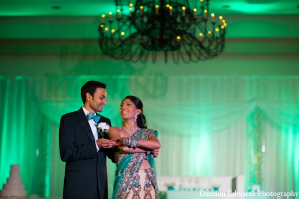 Indian wedding reception lighting in Long Island, New York Indian Wedding by Damion Edwards Photo