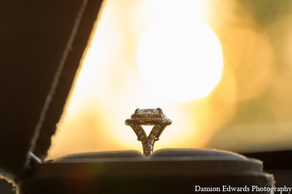 Indian wedding tiffany ring in Long Island, New York Indian Wedding by Damion Edwards Photo
