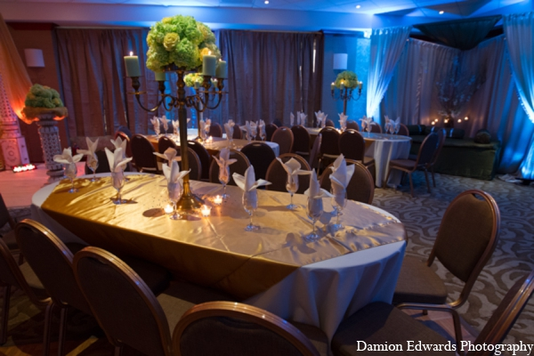 Indian wedding tradition sangeet decor in Long Island, New York Indian Wedding by Damion Edwards Photo
