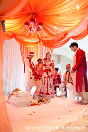 Indian wedding ceremony traditional customs and rituals in Jersey City, New Jersey Indian Wedding by Damion Edwards Photography